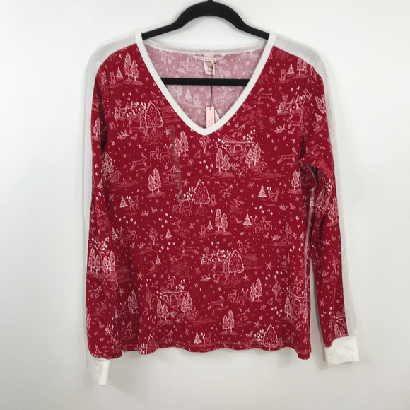 Victoria's Secret Other - New Victoria's Secret Christmas Tree Thermal Top